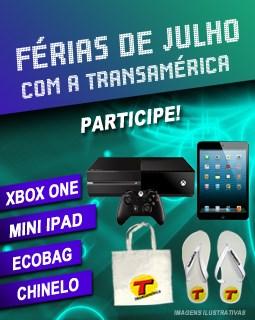 """Promoção """"Férias de julho com a Transamérica"""""""