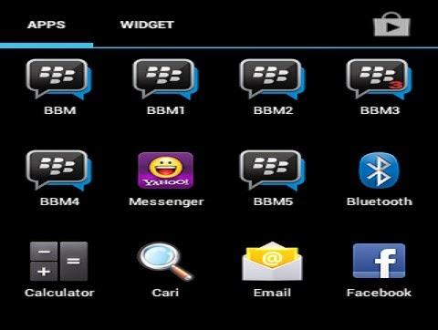 banyak BBM android