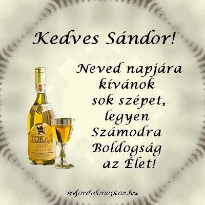 Sándor, Ede névnap