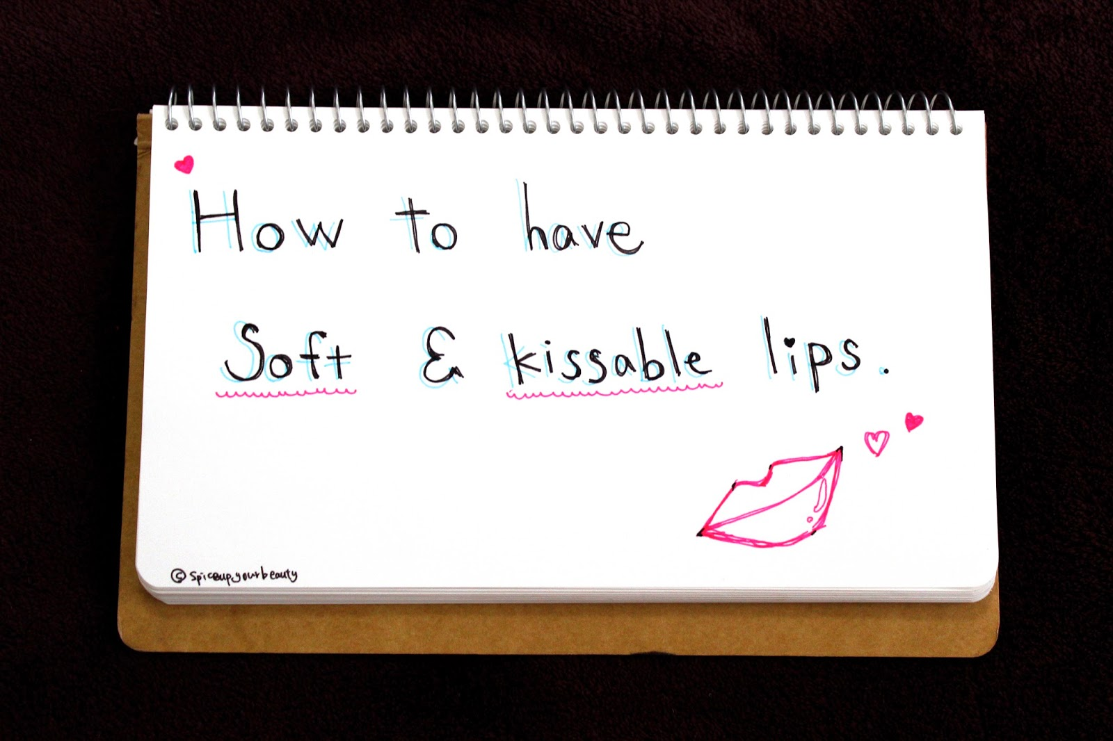 How To Have Soft and Kissable Lips♡ | Tips and My Lip Scrub Recipe