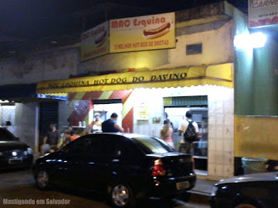 Mac Esquina - Hot Dog do Davino: Fachada