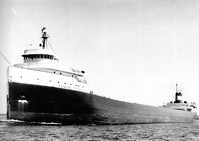Lake freighter Edmund Fitzgerald