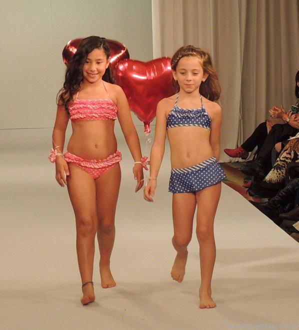 moda infantil 2014 bikinis