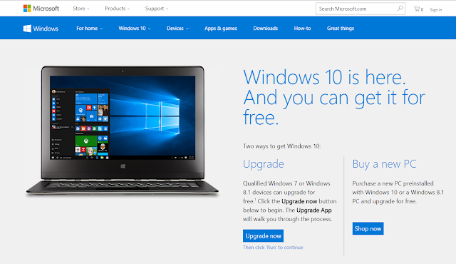 Upgrage Windows 10 Percuma
