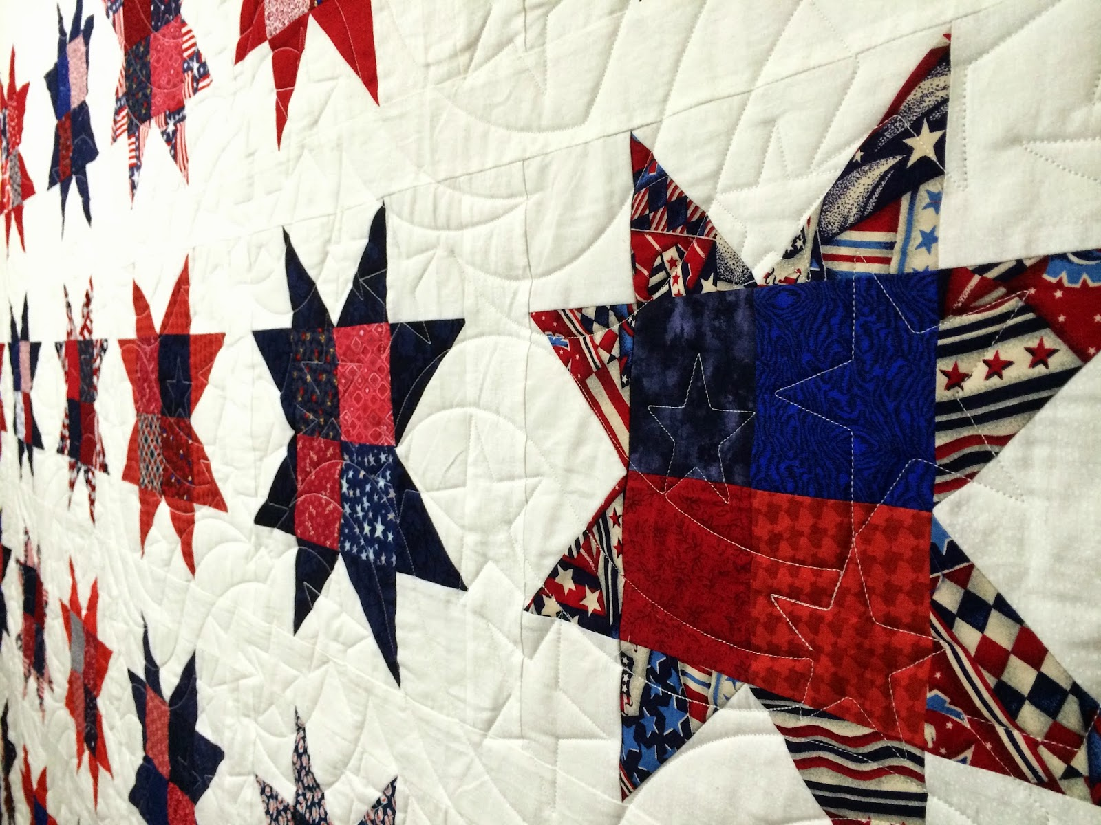 Peggy Kreb's Missouri Stars Quilt