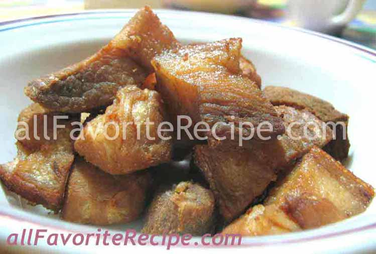 Filipino Foods: Lechon Kawali (Pan-Roasted Pork)