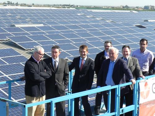 Cejalvo: 'La Ribera cuenta con 314 instalaciones fotovoltaicas capaces de abastecer 9.000 hogares'
