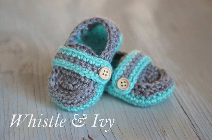 Free Crochet Pattern T Strap Booties : Hopeful Honey Craft, Crochet, Create: 10 Free Baby ...