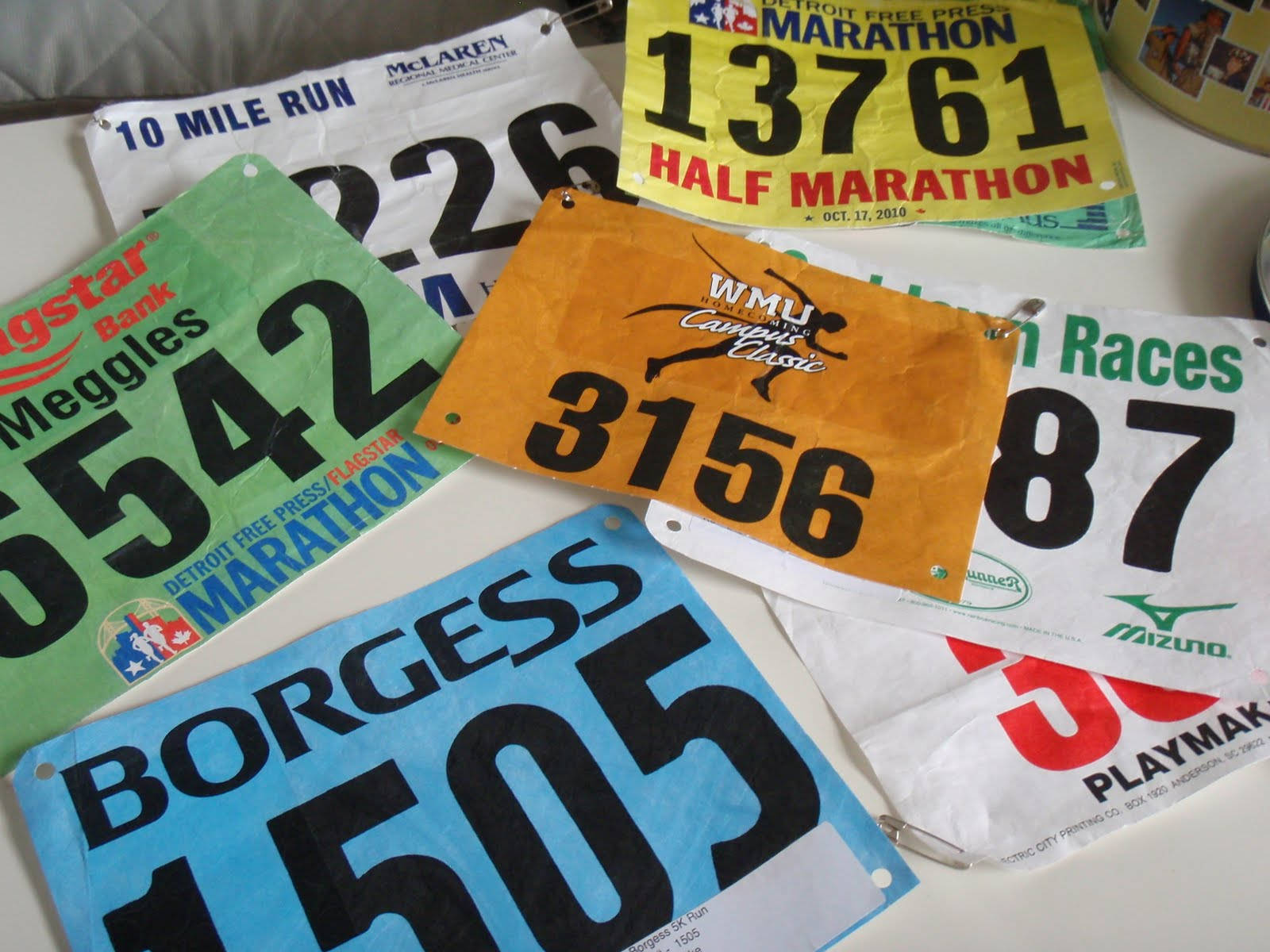 Nuun Winner & A Race Bib Display Tutorial