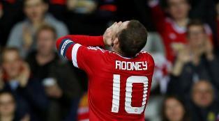 MU vs West Ham Rooney Absen