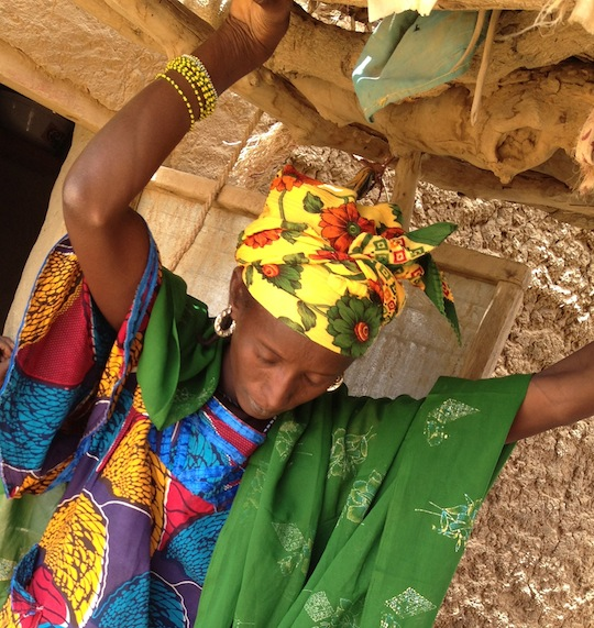 Roukayatou at home #ShareNiger