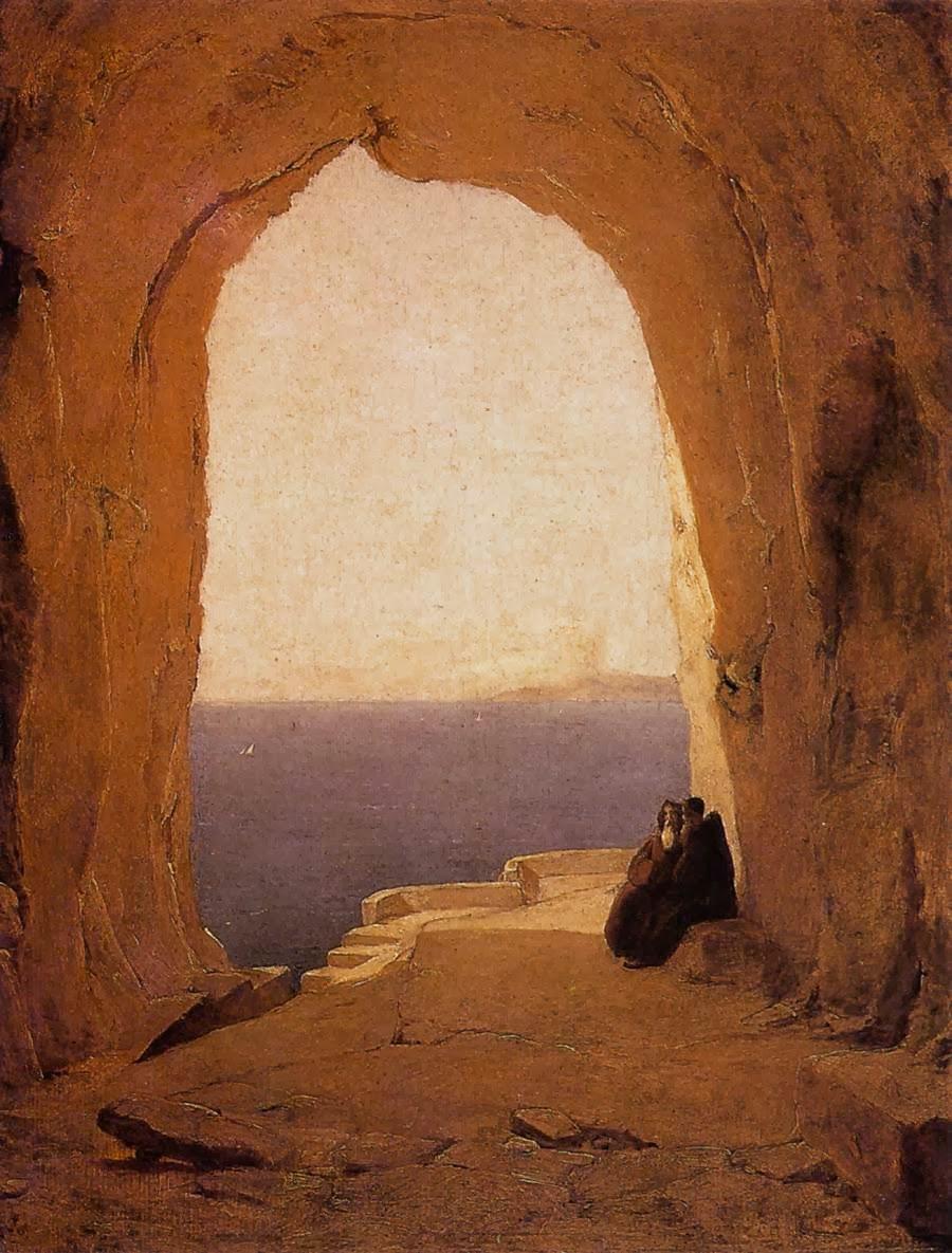 Una cueva en el desierto
