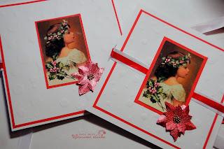 скрапбукинг открытка цветы ручной работы