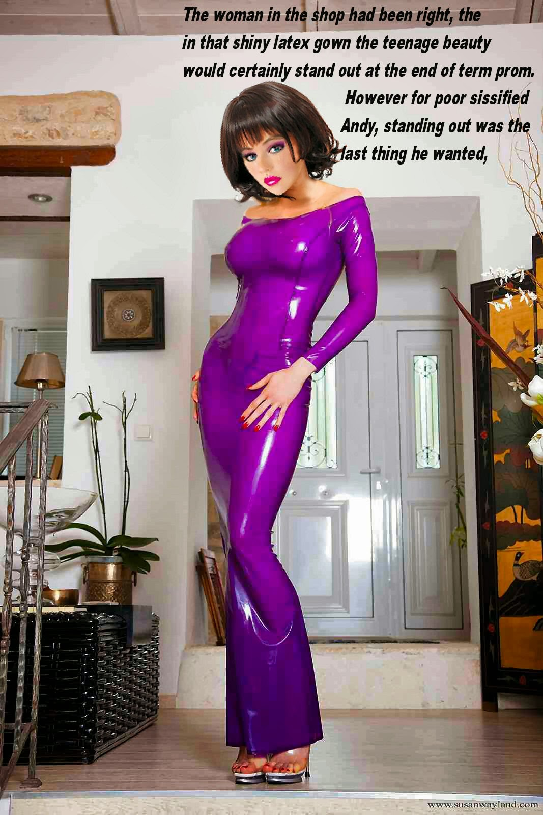 some of my feminization captions
