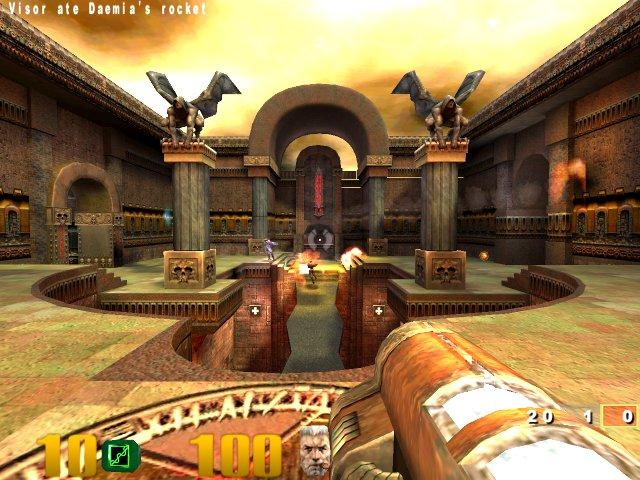 how to play quake 3 arena multiplayer