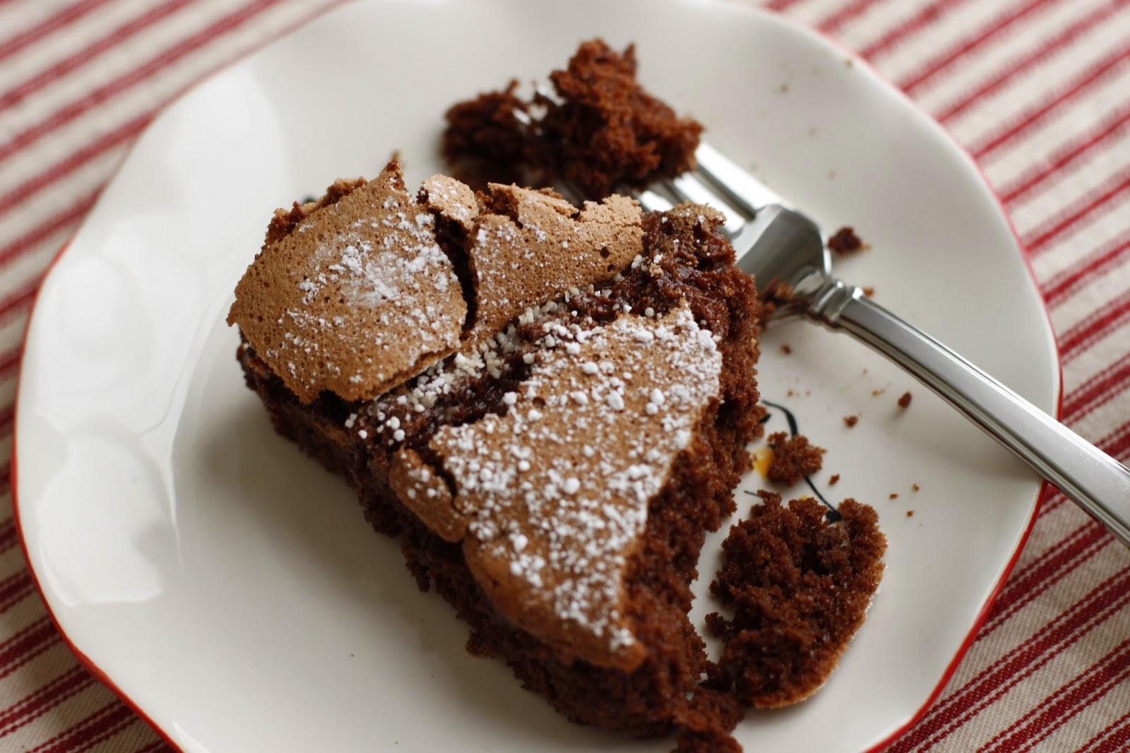 Flourless Chocolate Cake Semi Sweet Chips