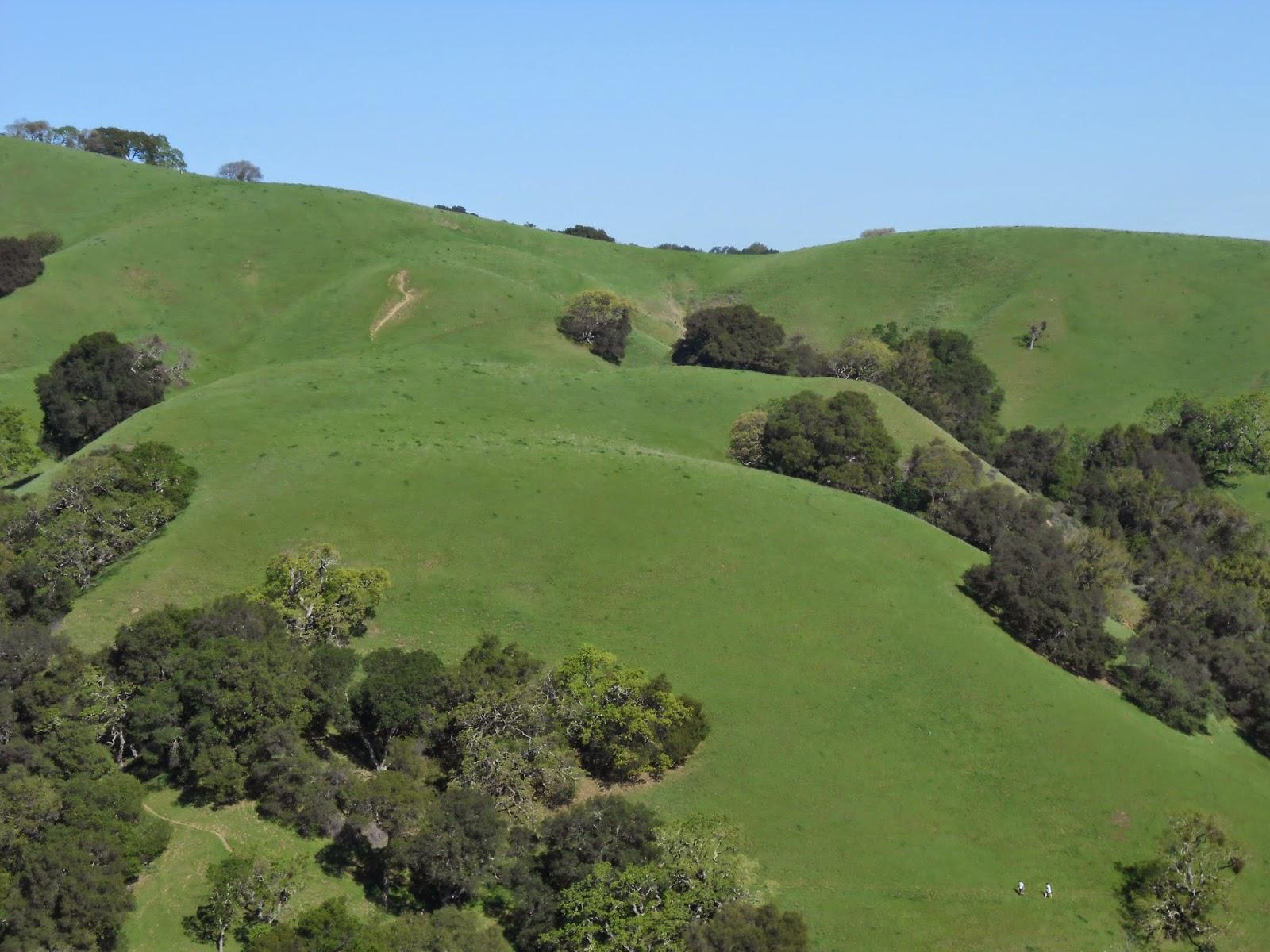 spring, hills, spiritual nature