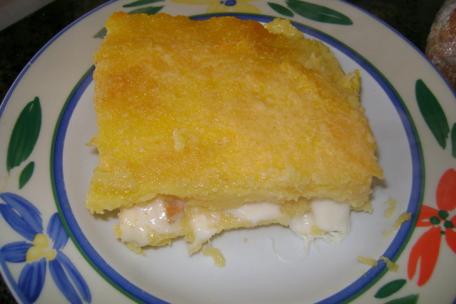 Un po' di zucchero: Come chiamarlo....... sformato di polenta!