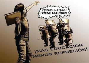 Más educación menos represión
