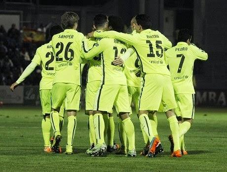 Copa del Rey : Huesca 0-4 Barcelona