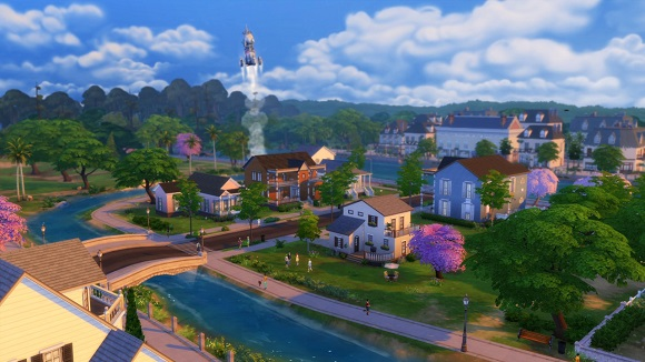 The Sims 4 Deluxe Edition PC Screenshot 1 The Sims 4 Deluxe Edition [PC/MulTi17] + Update1 RePack