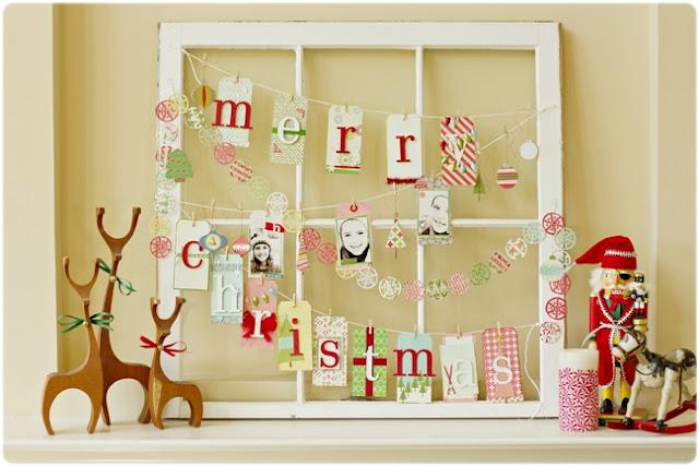 Marco Navidad decorado fotos