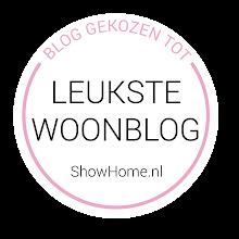 Mijn blog op ShowHome.nl