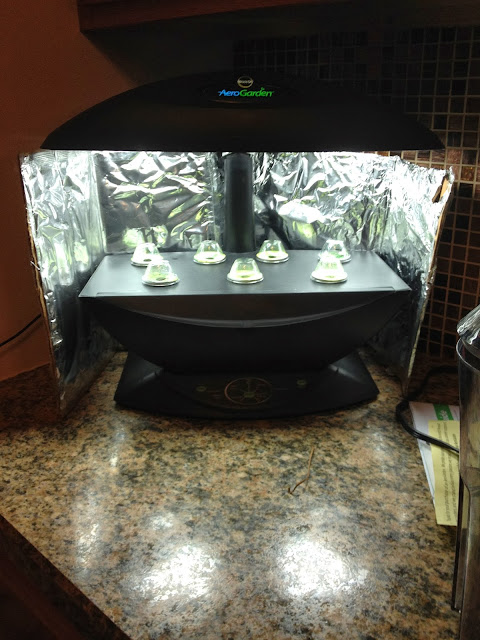 Diy Aerogarden 7 Reflector Power Grow Light Booster