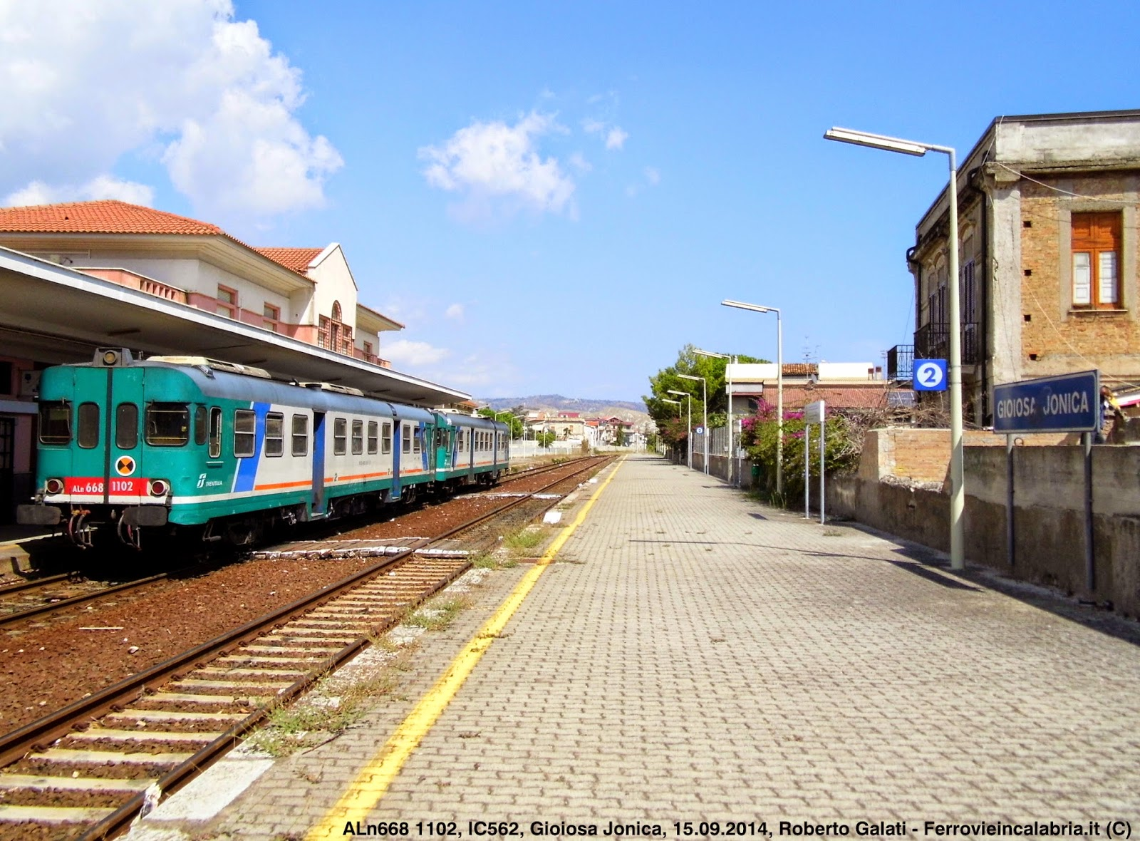 Treno Villa S Giovanni Reggio Calabria