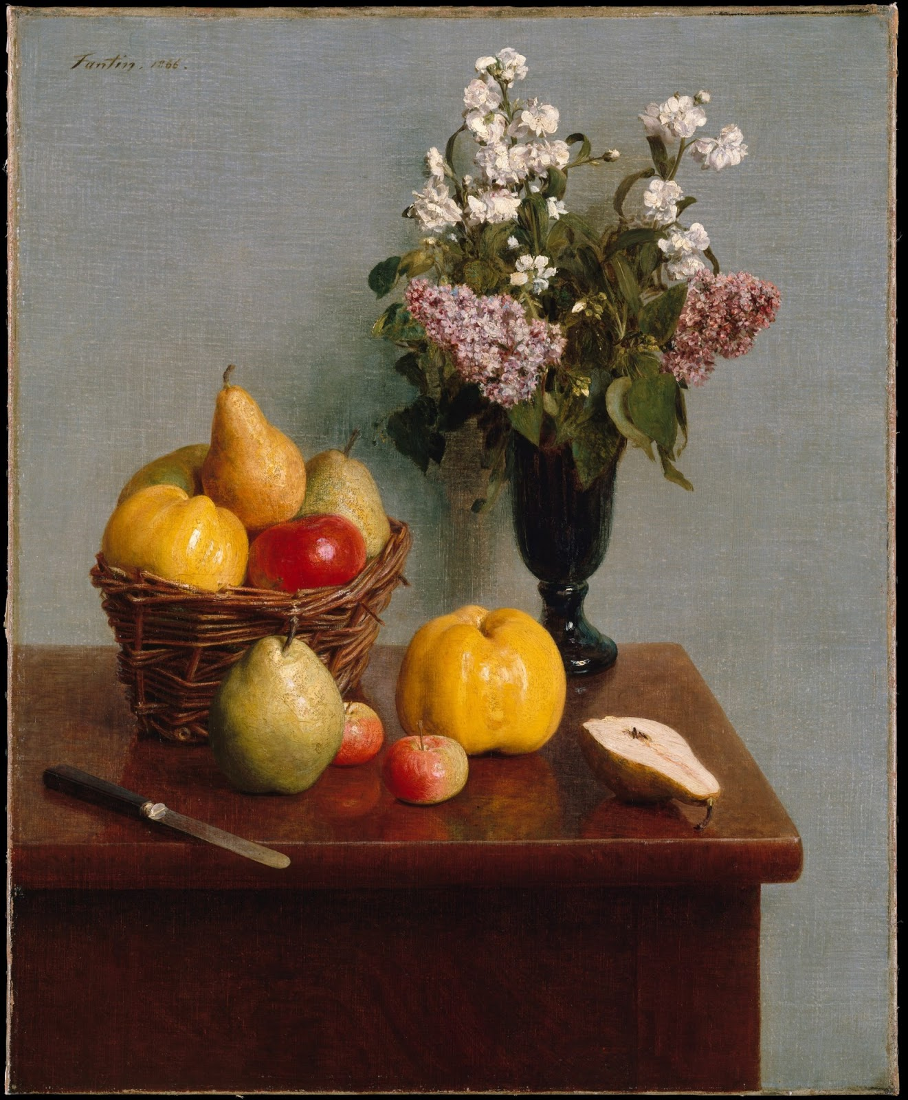 Spencer Alley: French Still Life Paintings, 19th century