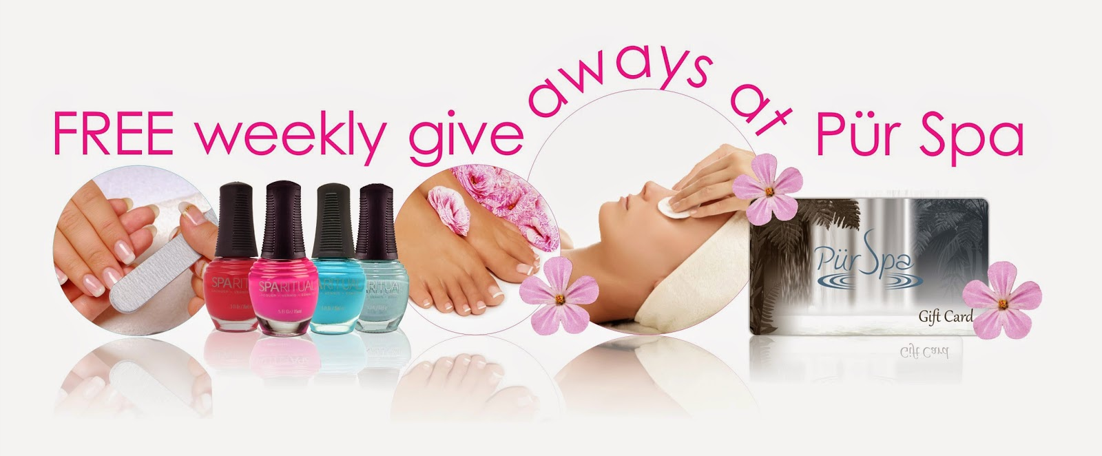 Pur spa weekly free give away banner