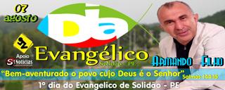 Dia do Evangélico de Solidão - PE