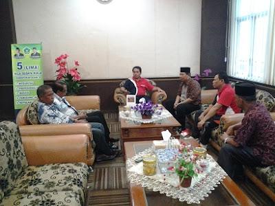 Konsultasi dan Koordinasi Peresmian KUA Datuk Bandar Ke Kanwil Kemenagsu