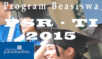 Beasiswa Full S1 Teknik Informatika Universitas Paramadina