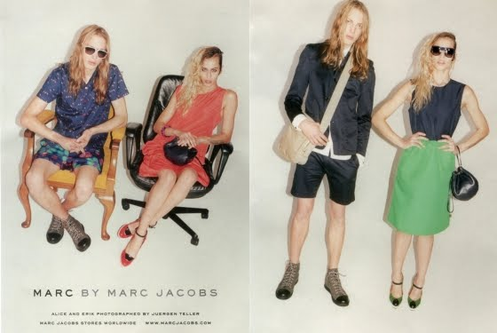 Marc by Marc Jacobs spring 2012 ad campaign