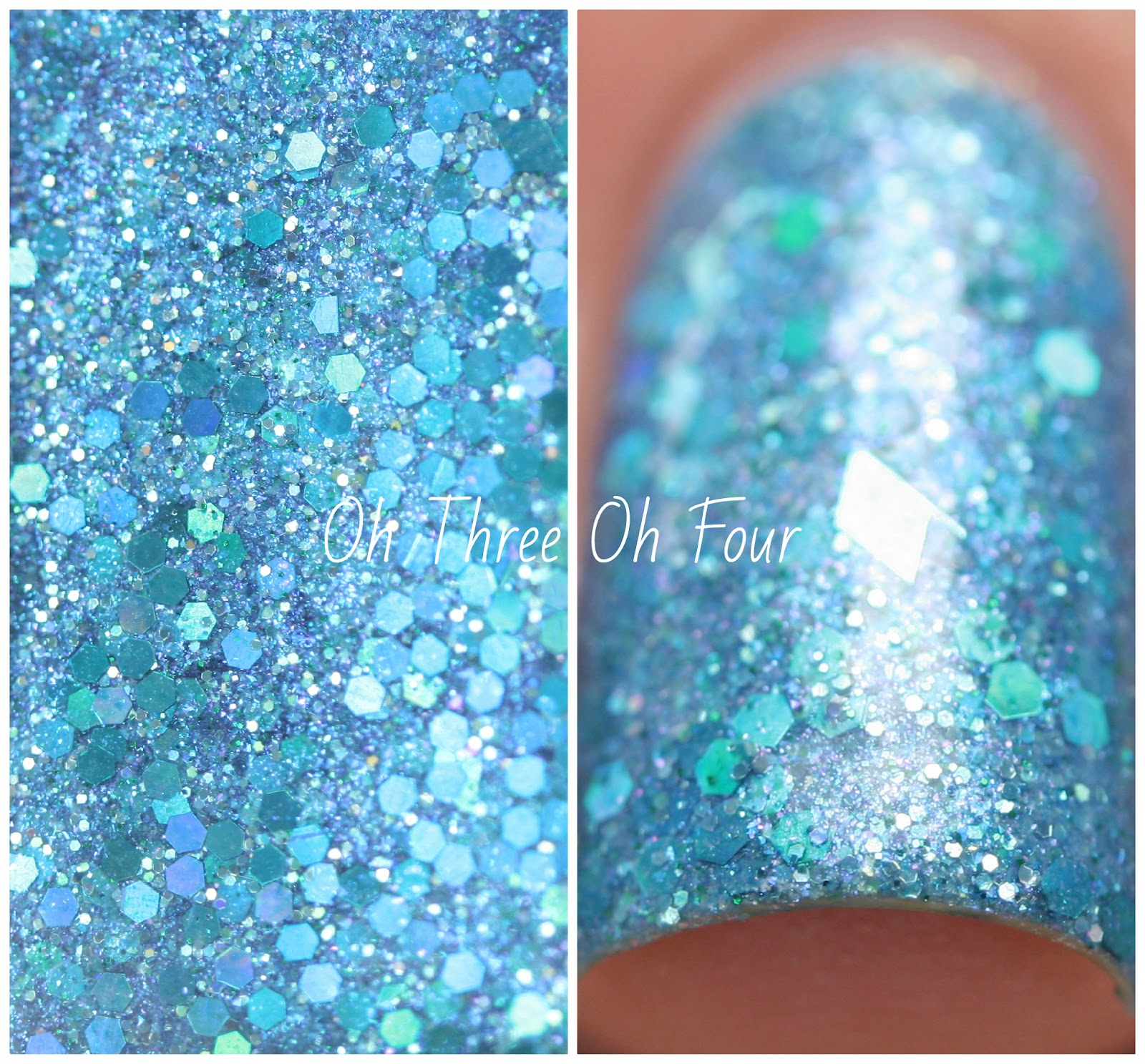 Lynnderella Mystery Mermaid swatch