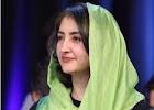 فرخنده زهرا نادری برنده جایزه صلح برنامه توسعه ای سازمان ملل متحد.۲۰۱۲