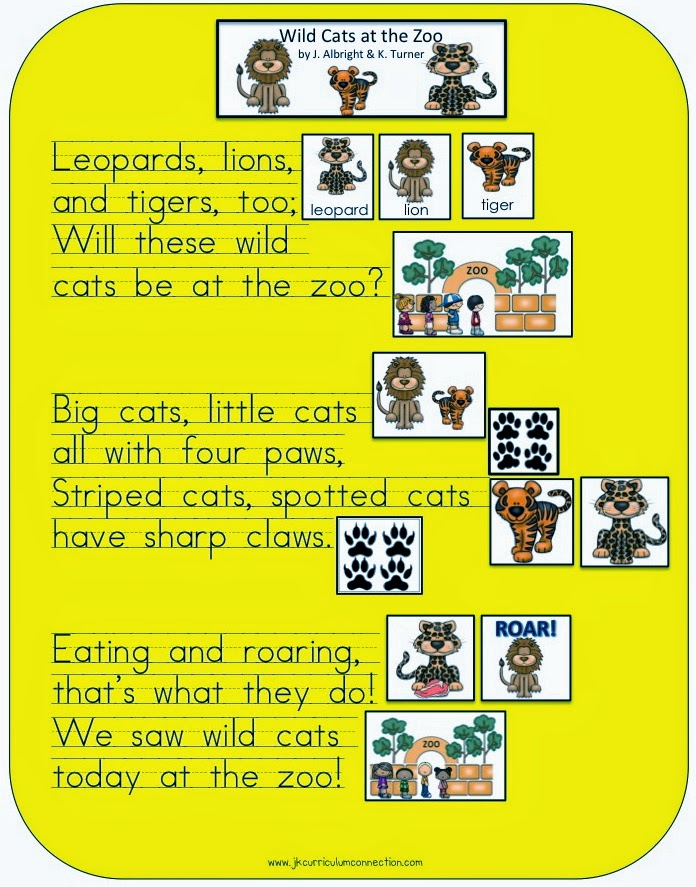 a tiger in the zoo poem pdf