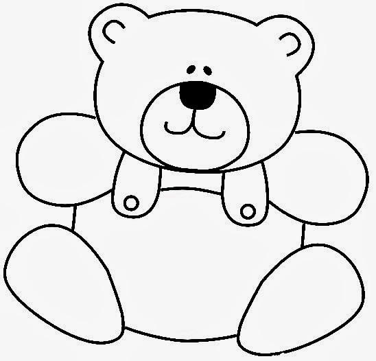 Ursinho Carinhoso - Jogando Tênis - Desenhos para colorir
