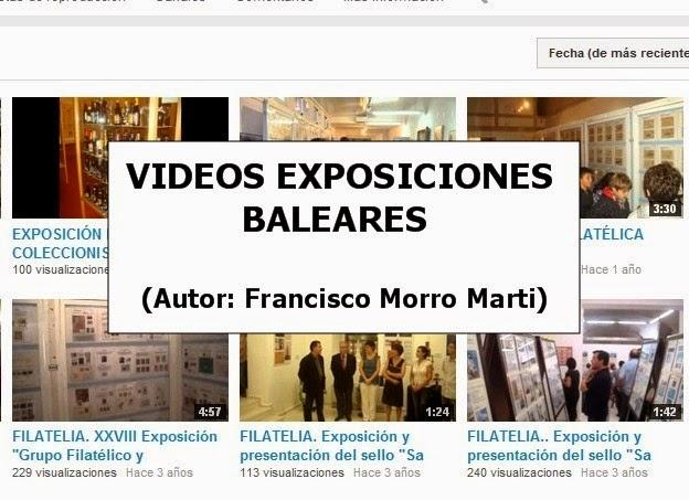 VIDEOS EXPOSICIONES BALEARES