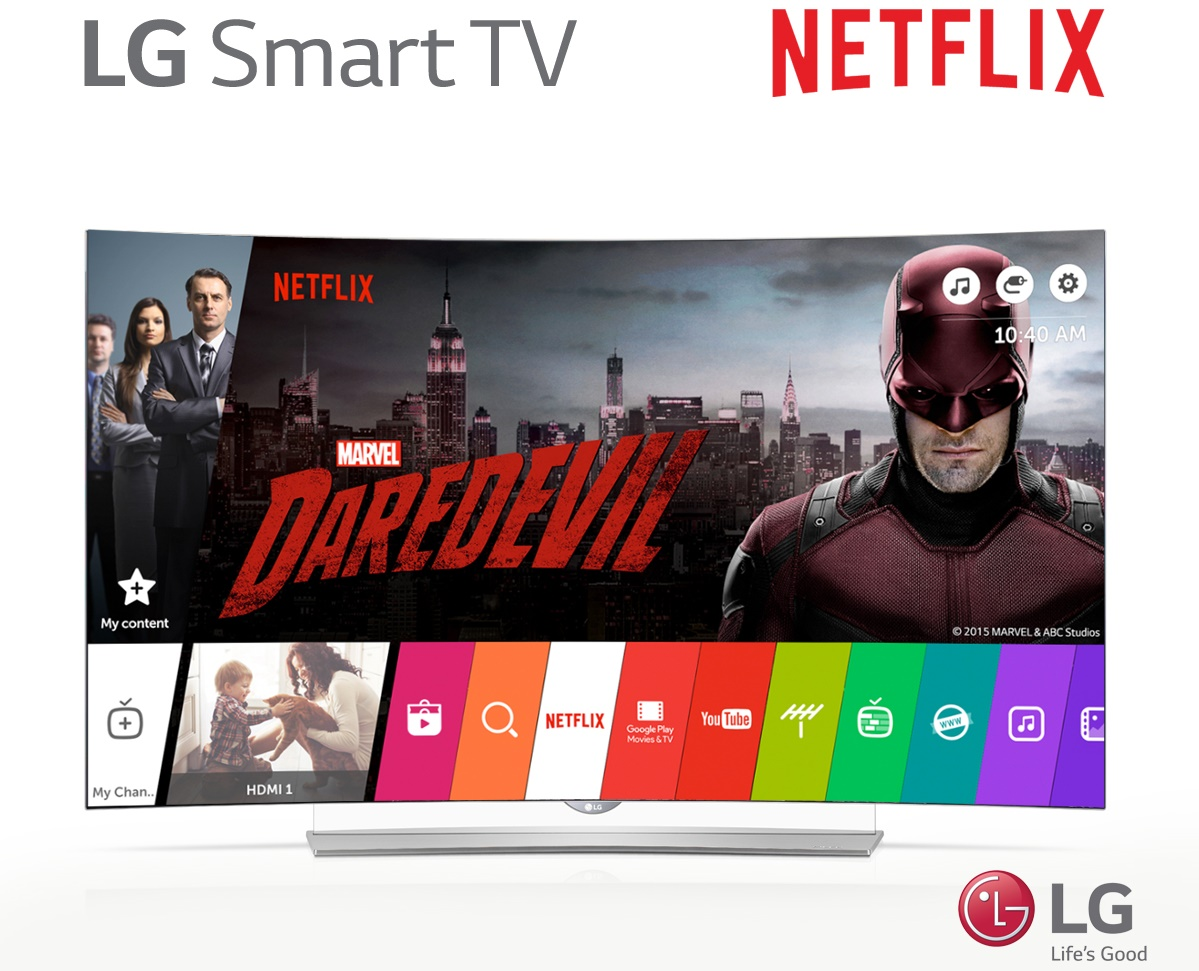 LG Smart TV and Netflix