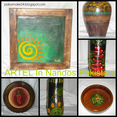 ARTEL in Nandos Pakistan