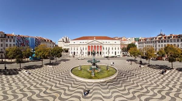 Praça do Rossio (Praça Dom Pedro IV) em Lisboa