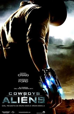 Filme Poster Cowboys & Aliens PPVRip XviD & RMVB Legendado