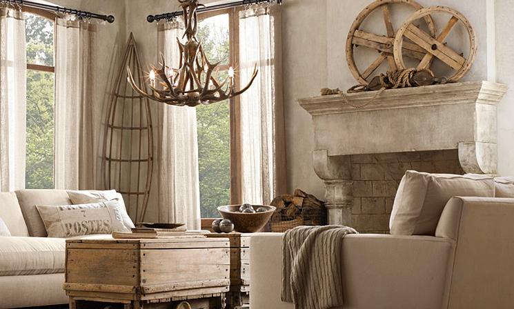 Antler chandeliers inspiring interiors restorationhardware aloadofball Images