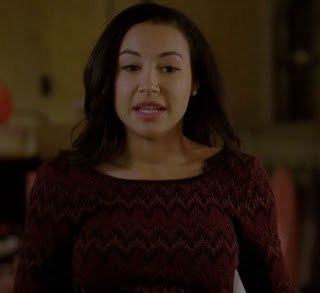 "Santana's Free People Cozy Cabin Sweater from Glee Season 4, Episode 17: "" Guilty Pleasures"""