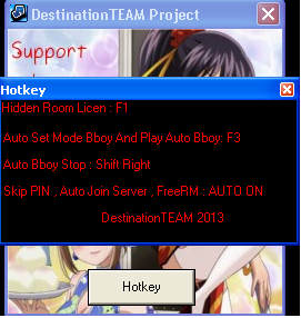 Ini saya Share Cheat Auto Bboy Hidden Room License 6093 .