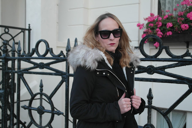 Miss Selfridge Parka by What Laura did Next