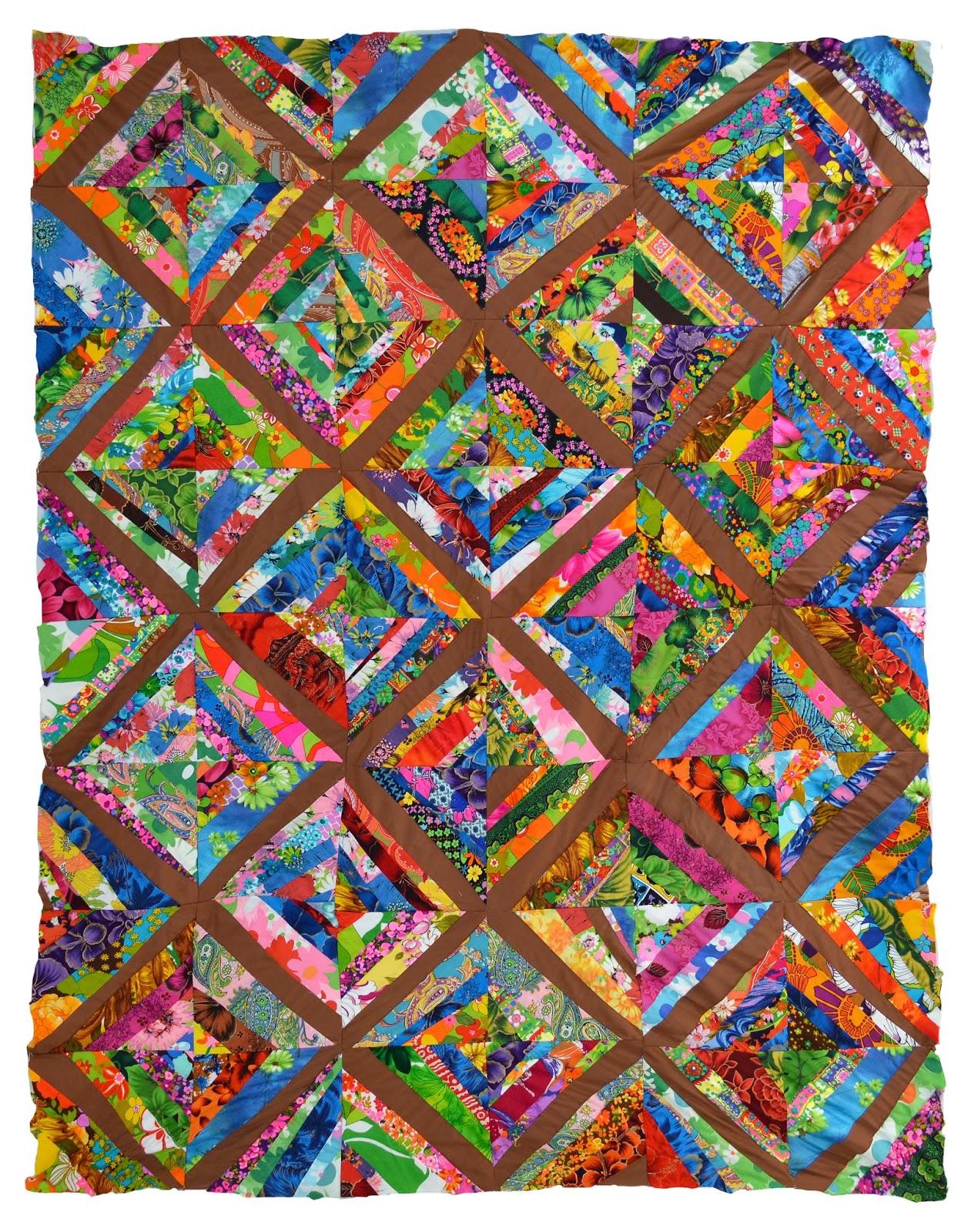 Wonkyworld open tuesday kalakoa discovering the for Scrap quilt