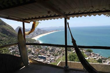 Rooftop Hamock Lounge - Casa Alto Vidigal